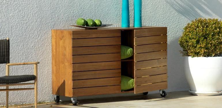 Gartenmobel Rustikal Eisen : Teak Holz Gartenmöbel Gartensessel mit geflecht gartensofa und