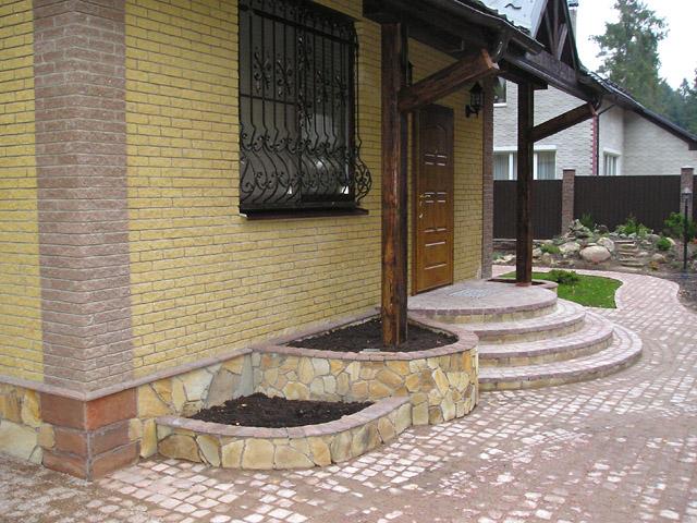 Дизайн крыльцо частного дома